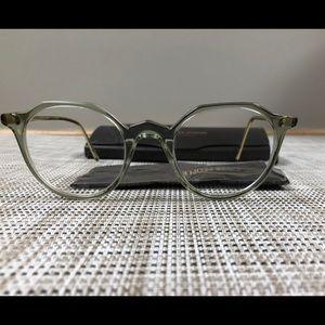 Designer Oliver People's eyeglasses with case